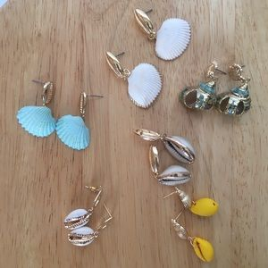 Earrings, Necklace and Scrunchie Pack